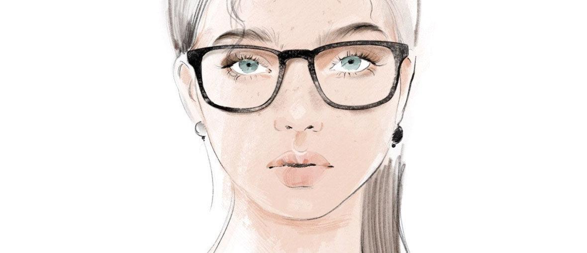 Hvilke briller passer til din ansigtsform