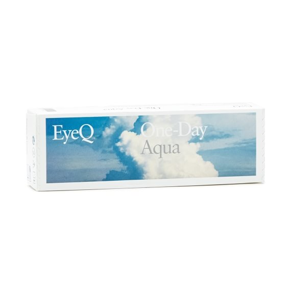 EyeQ One-Day Aqua 30 stk/pk