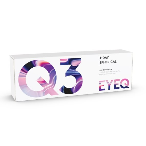 EyeQ One-Day Premium Q3 30 st/box