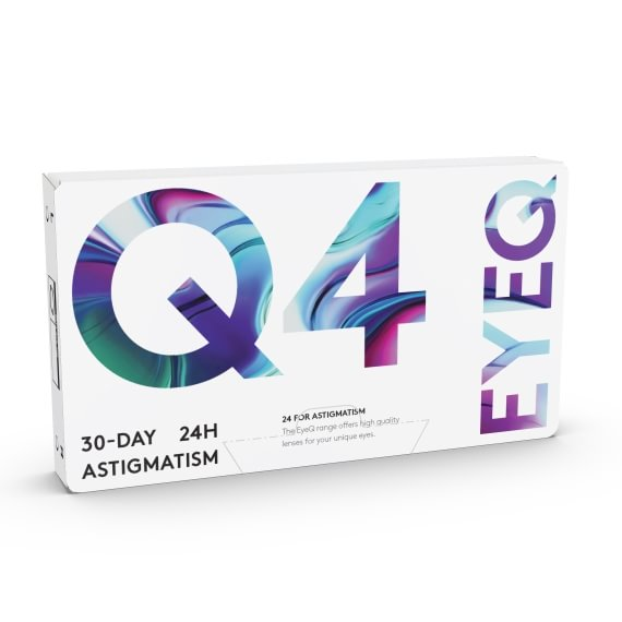EyeQ 24 For Astigmatism Q4 6 st/box