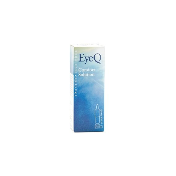 EyeQ Comfort Solution Pump Bottle 10 ml