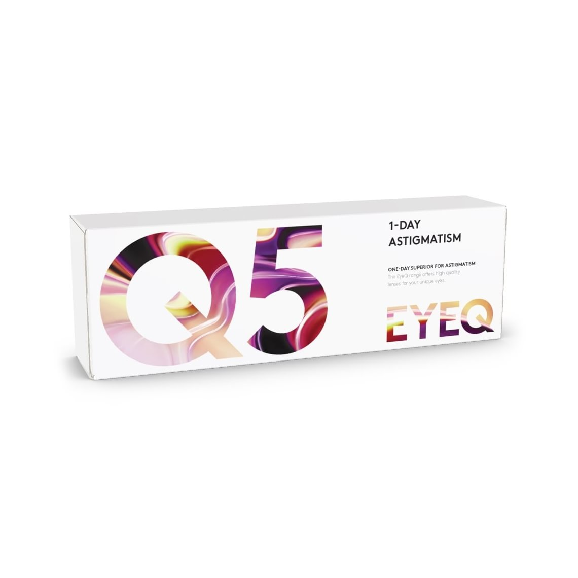 EyeQ One-Day Superior For Astigmatism Q5 30 stk/pakke