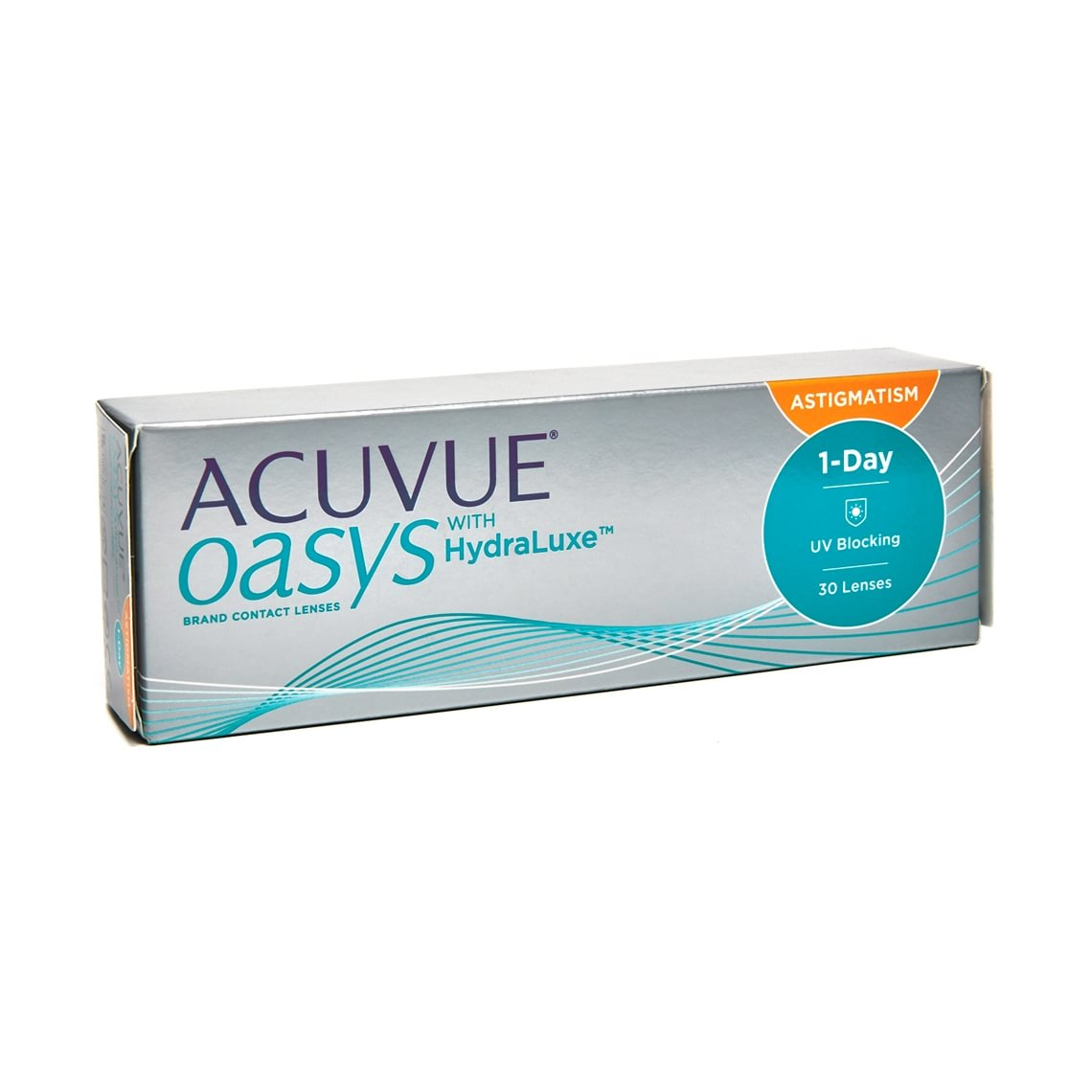 Acuvue Oasys 1-Day with HydraLuxe for Astigmatism 30 stk/pakke