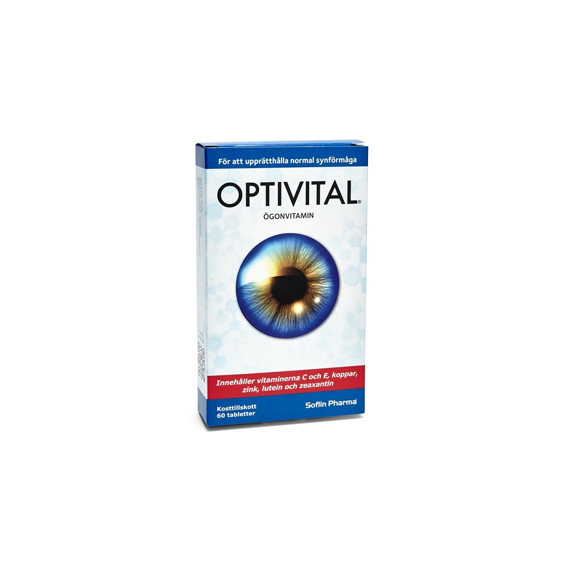 Optivital  Ögonvitamin 60 tabletter