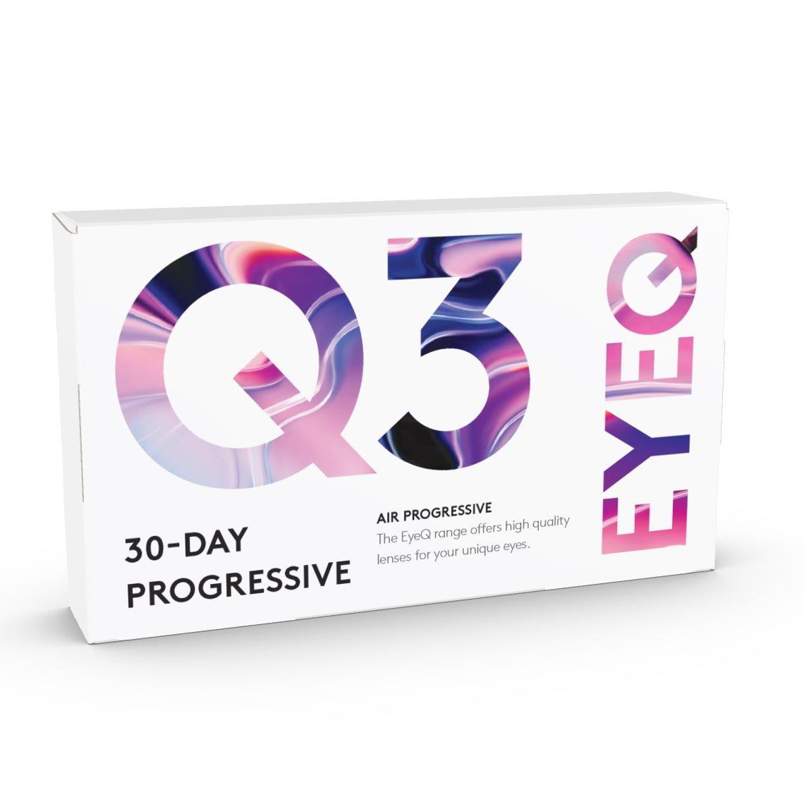 EyeQ Air Progressive Q3 6/laatikko