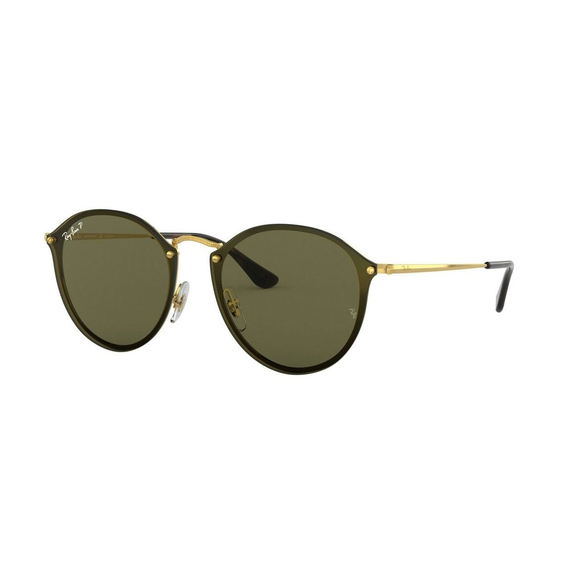 Ray-Ban Blaze round RB3574N 001/9A 59