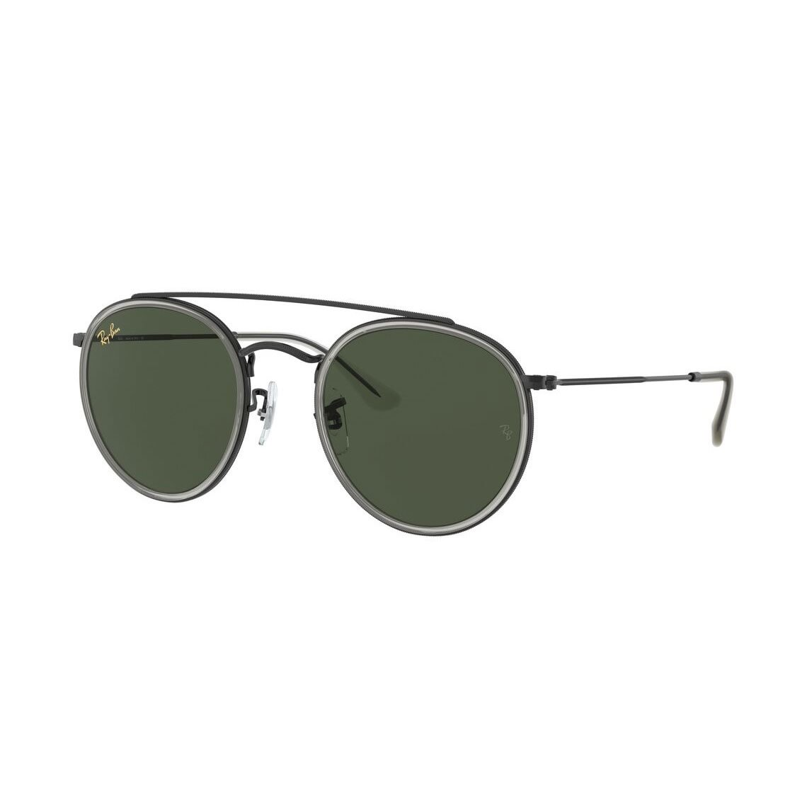 Ray-Ban Round Double Bridge Legend Gold RB3647N 921231 5122